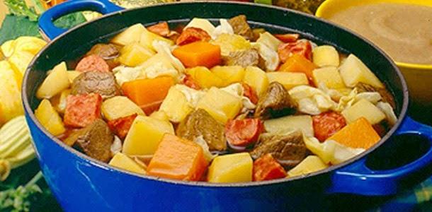 Cozido de legumes light