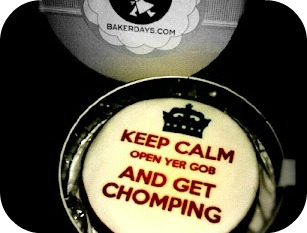 baker days, cake, keep calm,