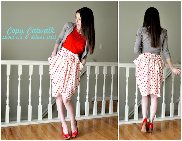 Runway Inspired Skirt tutorial