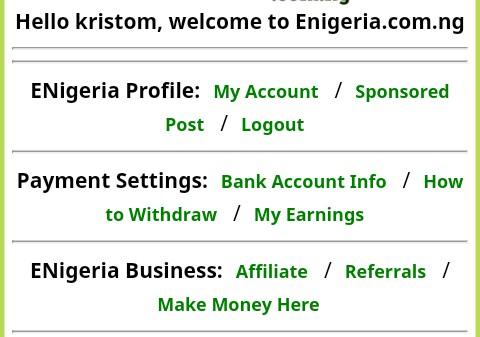 ENigeria income program scam legit
