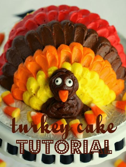 Turkey Cake Tutorial