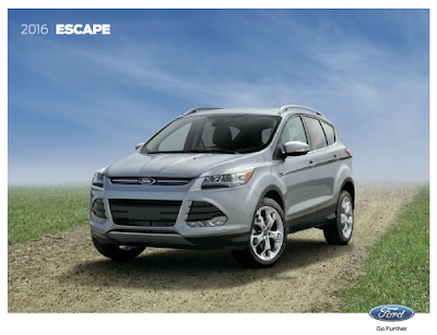 Downloadable 2016 Ford Escape Brochure