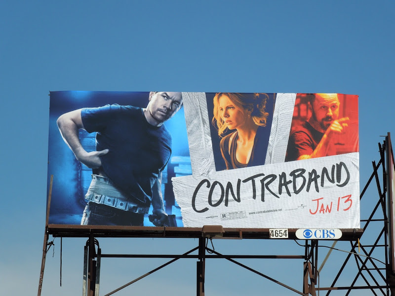 Contraband movie billboard