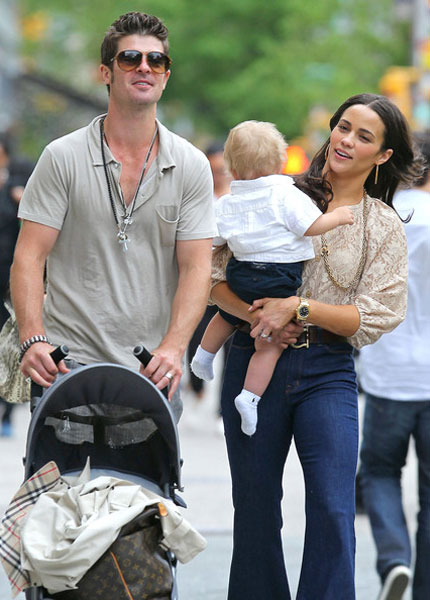 paula patton baby down syndrome. paula patton robin thicke aby