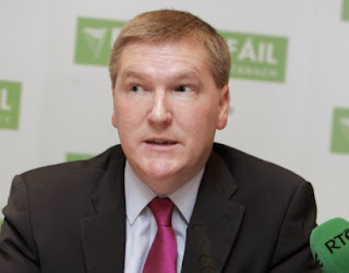 Fianna Fail TD Michael McGrath makes risque Facebook gaffe.
