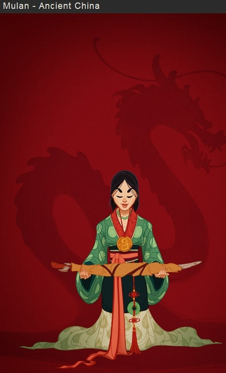 Mulan filmprincesses.blogspot.com