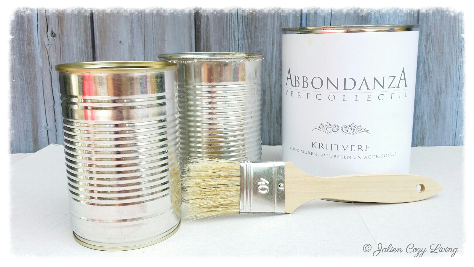 DIY Brocante Opbergblikje -  DIY Storage tin can © Jalien Cozy Living