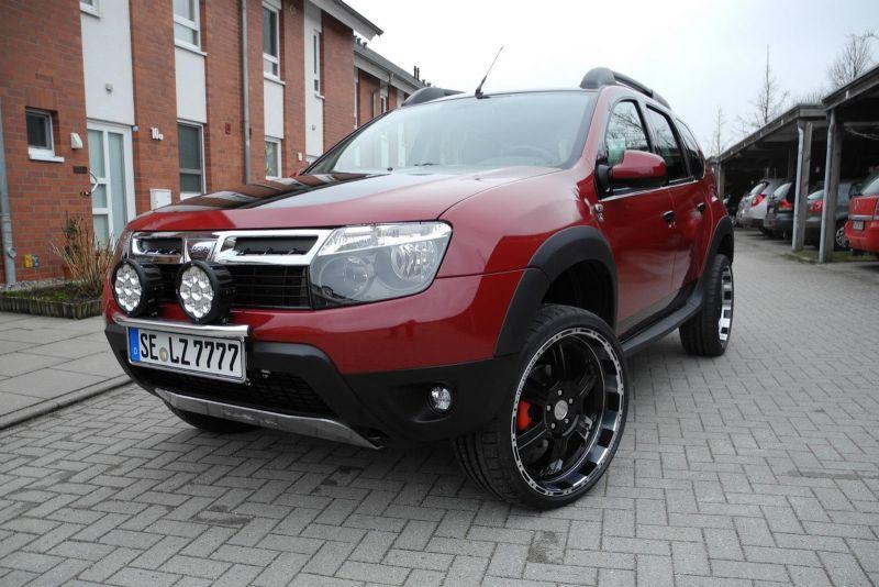 Normal Etap Lzparts Tan Dacia Duster Modifiyesi