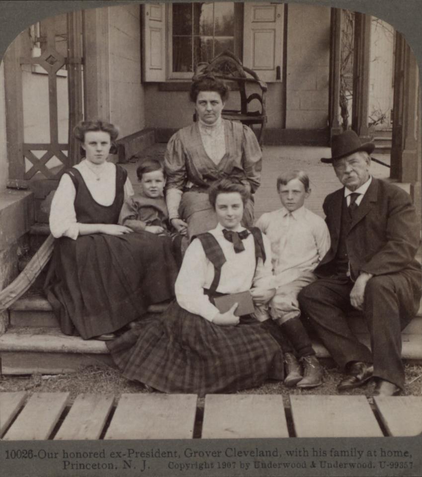 President Grover Cleveland Family