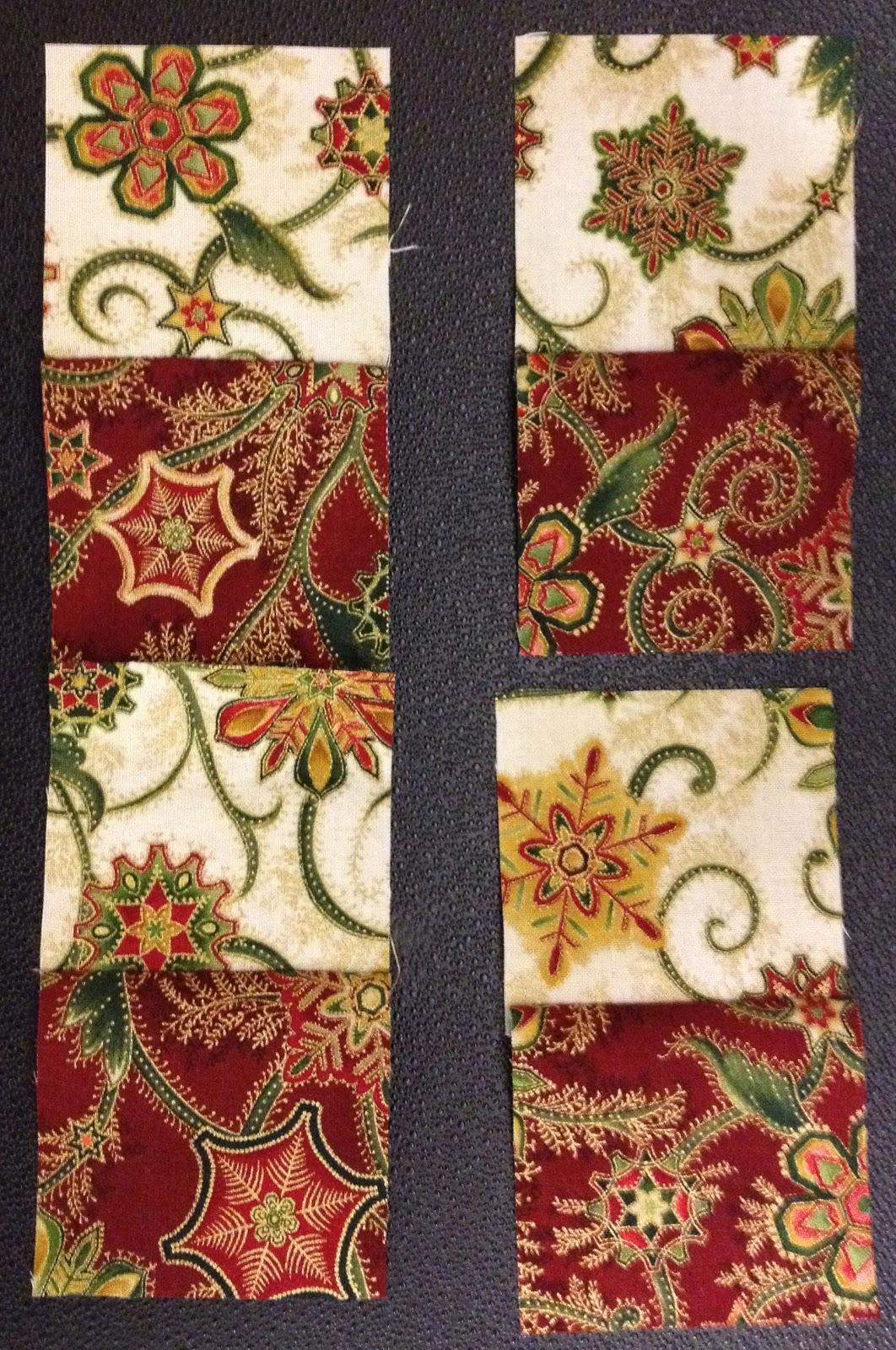 double four patch quilt pattern