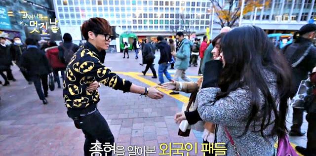 Jonghyun meets fans in Shinee's Wonderful Day