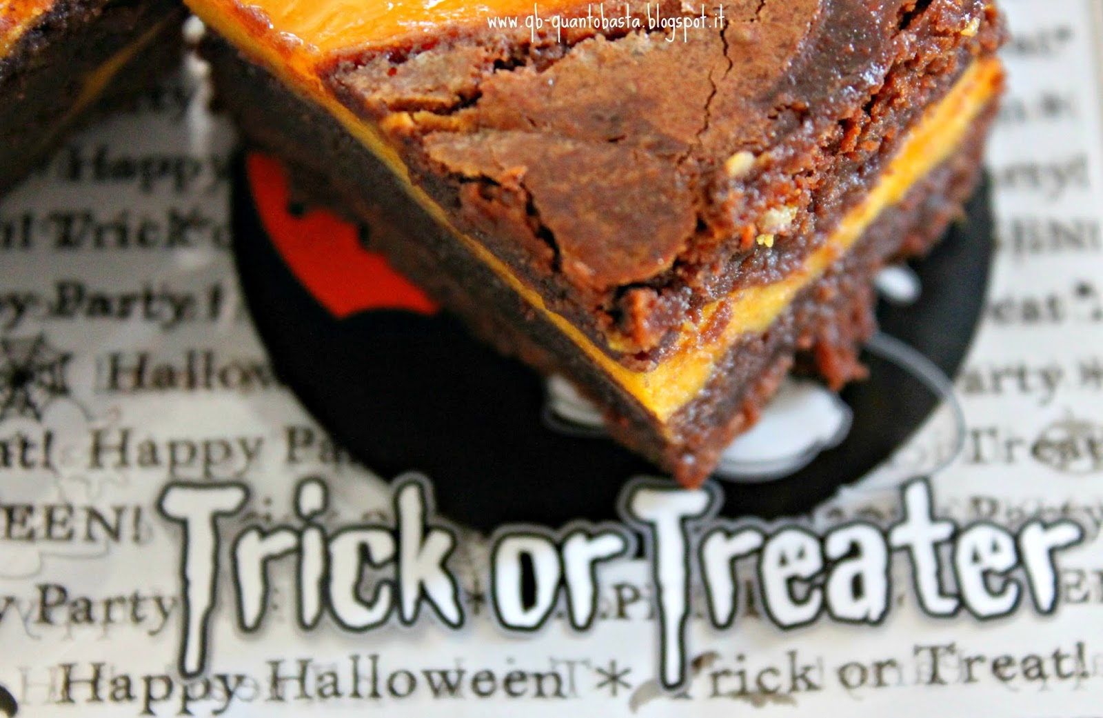 Q.b. - Quanto Basta: Brownie Pumpkin CheeseCake