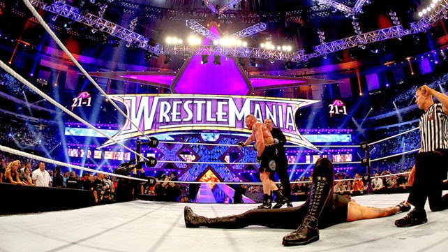 WrestleMania 30 results, WrestleMania 30, The Undertaker, Brock Lesnar