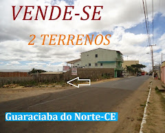 Vende-se terrenos em Guaraciaba do Norte - CE