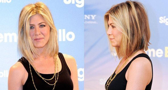 Hot Wallpaper: Jennifer aniston new haircut.