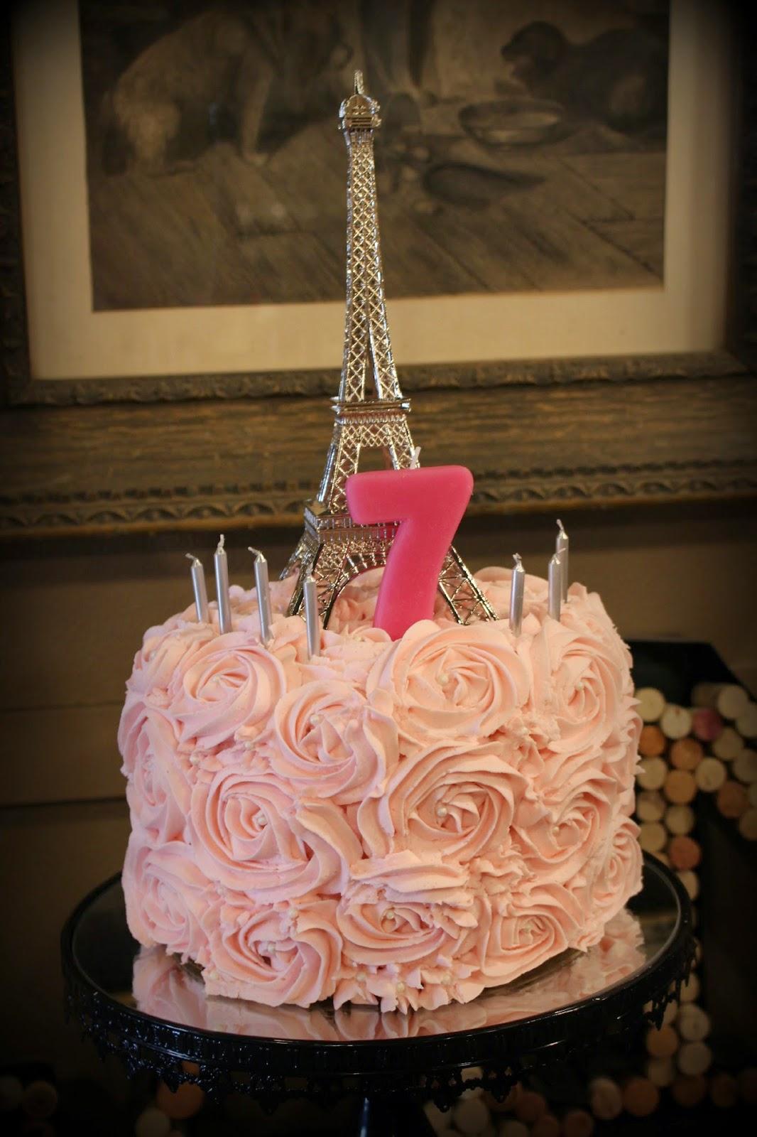 Eiffel Tower Birthday Party