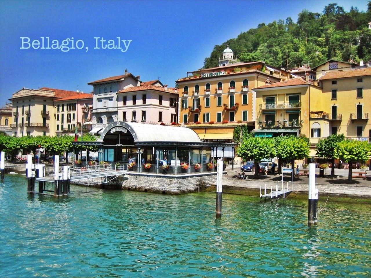 италия город Белладжио