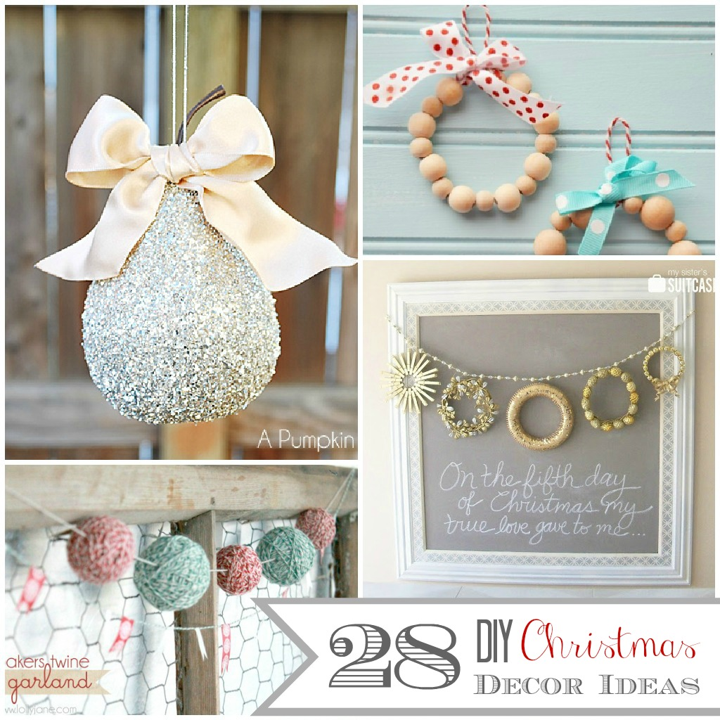 28 diy christmas decor ideas the crafted sparrow