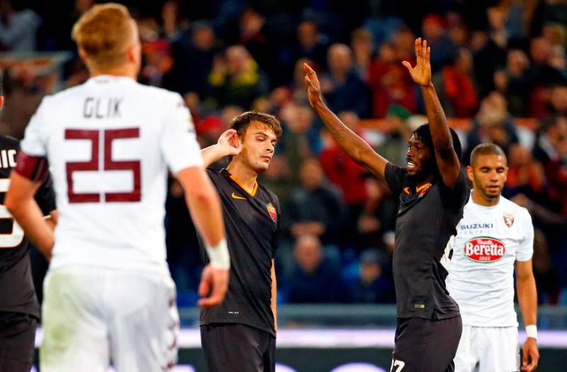 AS Roma Raih Tiga Poin Atas Torino