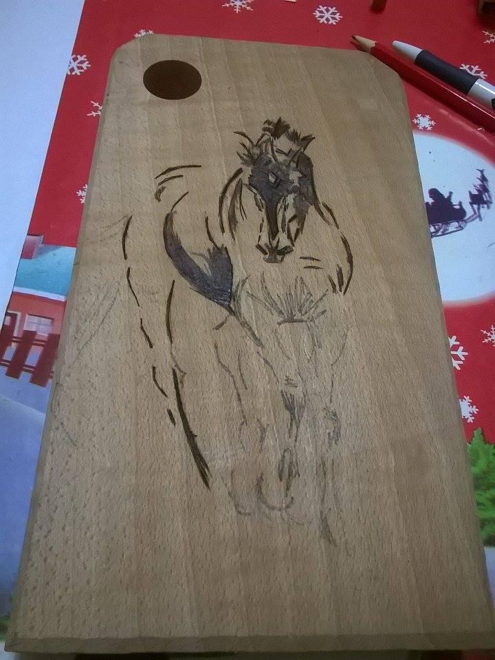 Ben noto Monnalisa Fimo: Incisione su legno: Tagliere ME78