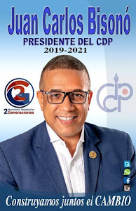 Juan Carlos Bisonó-PRESIDENTE DEL CDP.