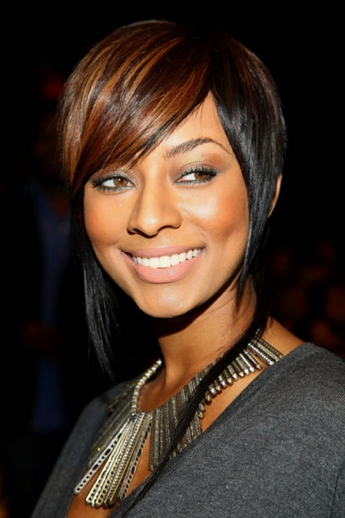 African American Women Hairstyles with Bangs