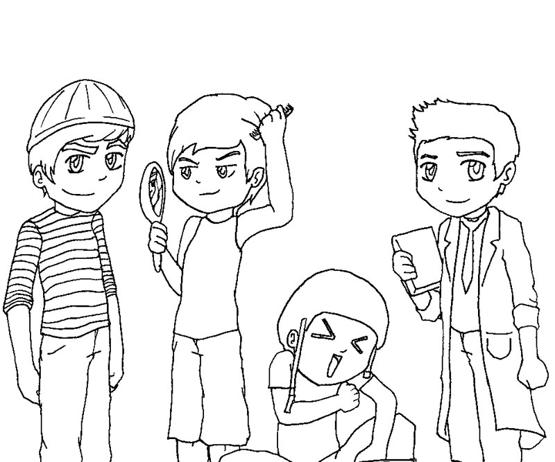 big time rush coloring pages big time rus free colouring pages