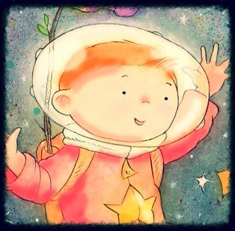 Space boy...
