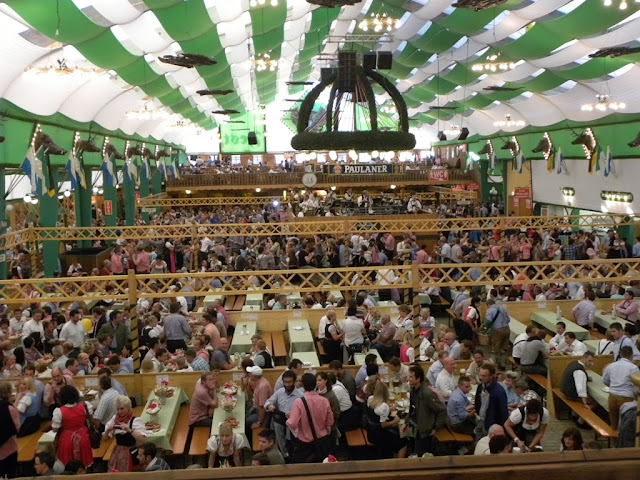 Beer party Oktoberfest Munich