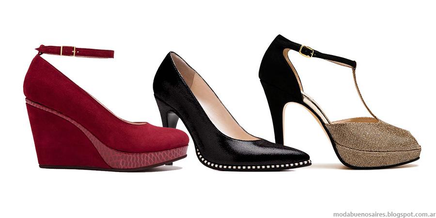 Stilettos y zapatos de fiesta 2015: Rallys otoño invierno 2015. Moda invierno 2015 zapatos.