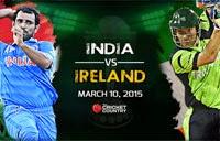 India defeats Ireland hands down