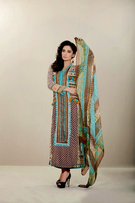 Chiffon Lawn Dresses for Eid