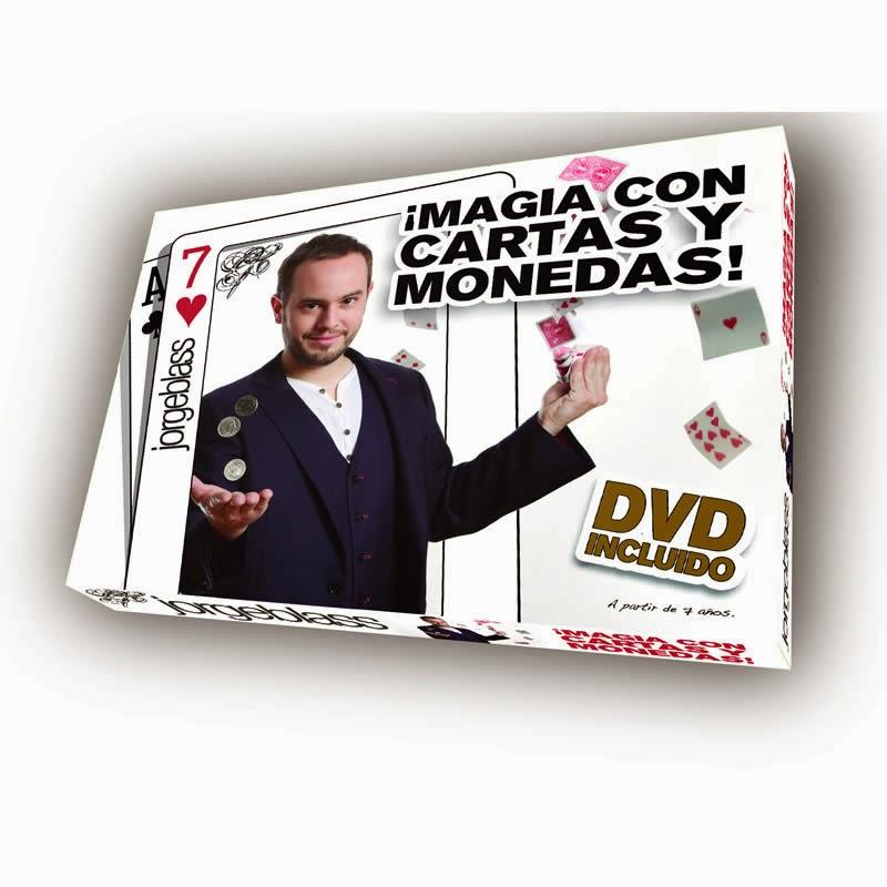 Magia con cartas monedas Jorge Blass