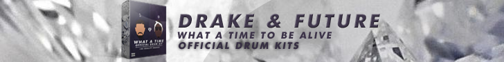 Drake & Future : What Time to be Alive - Official Drum Kit