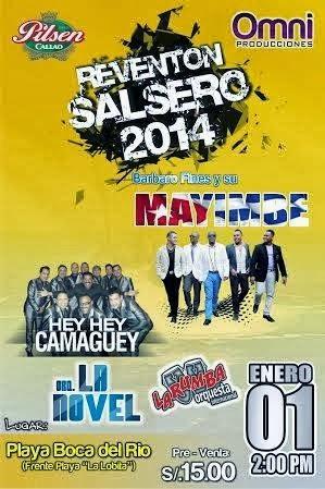 Reventon Salsero en Tacna - 01 Enero