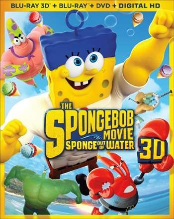 The SpongeBob Movie Sponge Out of Water 3D Latino
