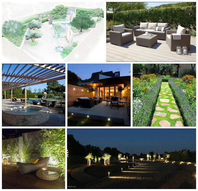 Garden Design, Awkward garden shape, Gardening
