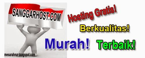 Sanggarhost.com Web Hosting Gratis, Murah, Terbaik dan Berkualitas di Indonesia