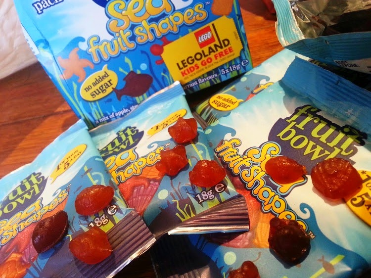 FruitBowl children's fruit snacks Sea Fruit Shapes review