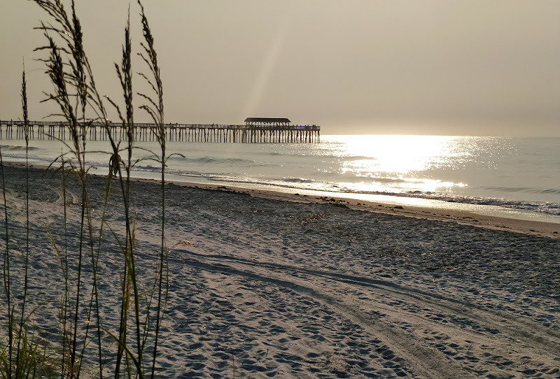Nancy and bill back in myrtle beach wednesday june 20 for Fishing piers in myrtle beach