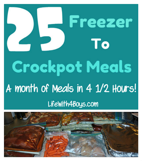 11 Make Ahead Camping Recipes For Easy Meal Planning: Life With 4 Boys: 25 Meals In 4 1/2 Hours