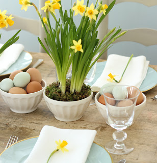 Daffodils for an Easter Table by Jenny Stefens Hobick