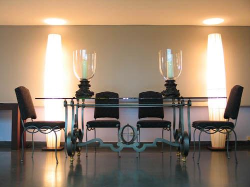 Muebles y decoraci n de interiores el sal n comedor en for Muebles franceses