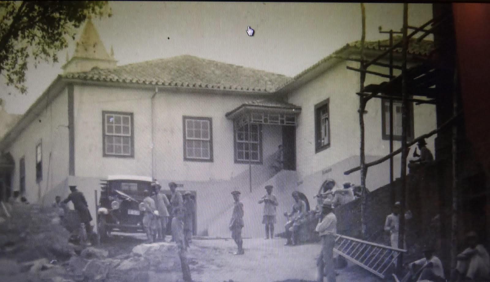Construçao do predio do 9 BI de Barbacena