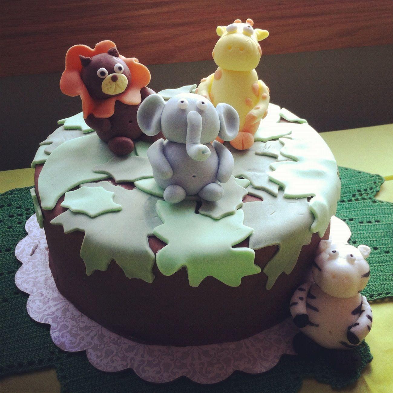 Naked Cupcakes: Jungle Baby Shower Sweets (Vegan Sugar Cookies