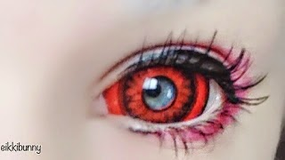 Welcome Halloween with Red Sclera Carnage Lenses