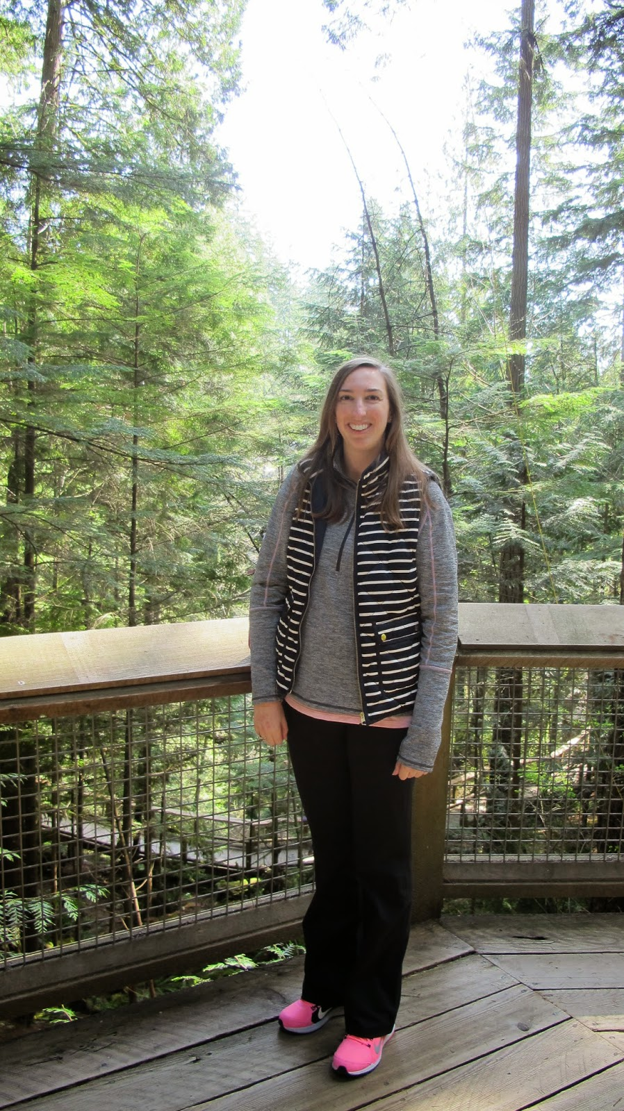 Pacific Northwest Trip: Vancouver Capilano Suspension Bridge Park