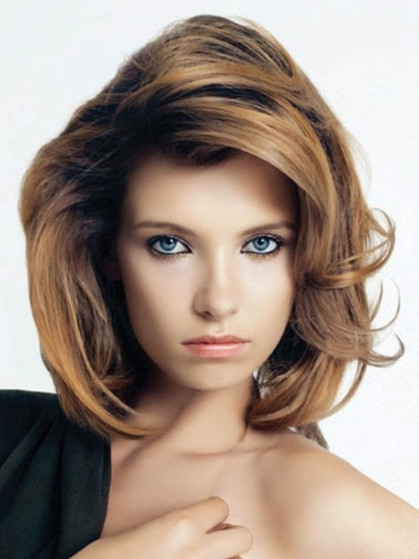 Easy hairstyles for medium hair - 2014 Easy hairstyles for medium hair