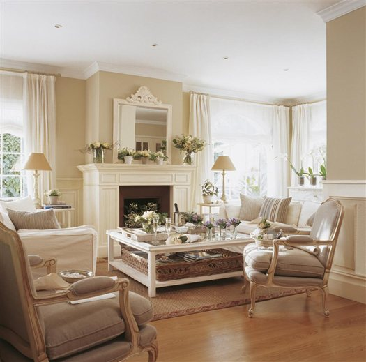 A light beige romance  Interior Heaven