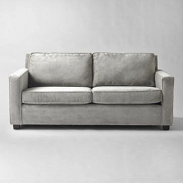 Henry Sofa From West Elm In Dove Grey